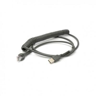 USB-Kabel CAB-441, 2,4m, coiled