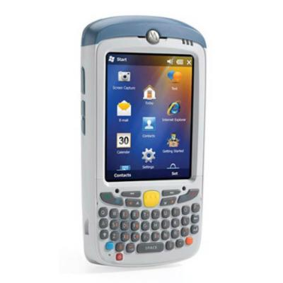 Zebra MC55X, HC, 2D, USB, WLAN, Qwertz, Display, WEHH 6.5, weiß
