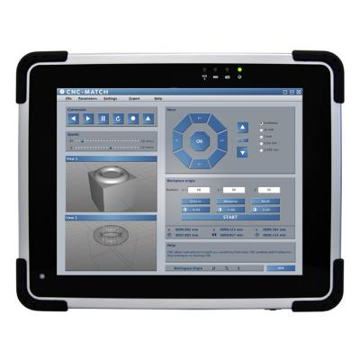 "InduTAB W97I1W 9,7"", Tablet PC mit AtomN2600, 2GB, 32GB, UMTS, GPS, IP54"