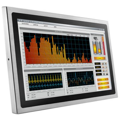 "21.5"" Touchmonitor Edelstahl"