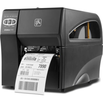 Zebra ZT220 (300dpi),Thermotransfer, USB, RS232, LAN