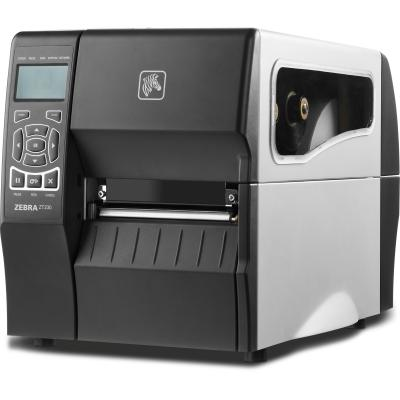 Zebra ZT220 (203dpi),Thermotransfer, USB, RS232