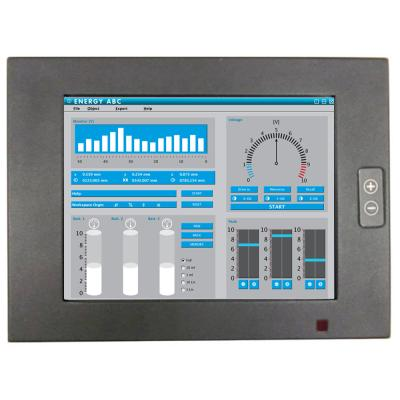 "8"" IP65 Touchscreen-Monitor schwarz"