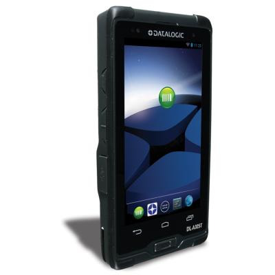 Datalogic DL-Axist, IP67, 2D, BT, WLAN, 4G, NFC, Android 4.4.4 KitKat, Dockingstation, Rubber Boot