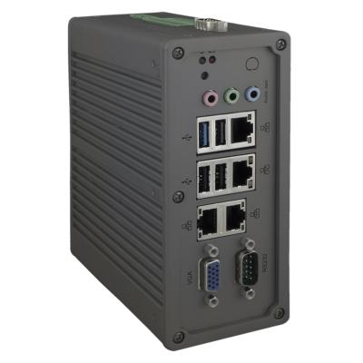 PicoSYS 2870 Embedded-PC, Intel Celeron Baytrail N2930 1,83GHz, 4GB, 64GB SSD, Din-Rail