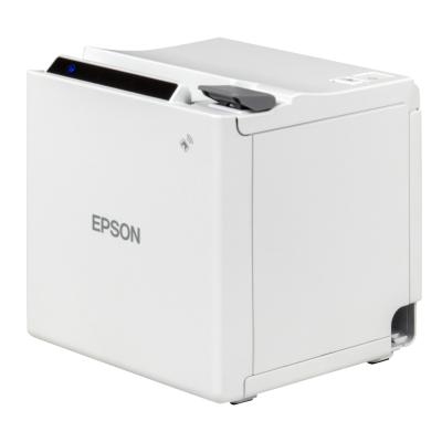 Epson TM-M10 UK, USB, Bluetooth, 8 Punkte/mm (203dpi), ePOS, weiß