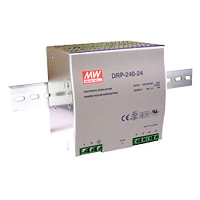 240 Watt Series - Industrial Single Output DIN Rail With PFC Function Power Supply, 24V