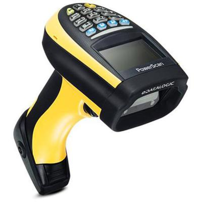 Datalogic PowerScan PM9500-DK, 2D, HP, 433MHz, Multi-IF, Display, RB, Gun Only
