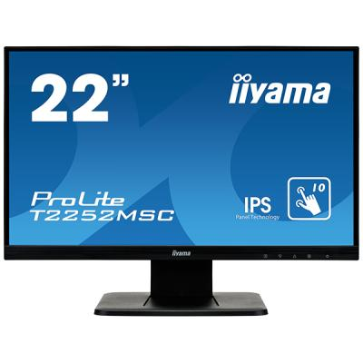 iiyama ProLite T2252MSC-B1, 54,6cm (21,5''), Projected Capacitive, Multi Touch, Full HD, schwarz