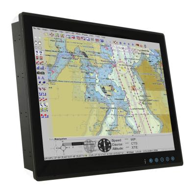 "Panelmaster Marine 1990, 19"" Panel PC, PCAP Touch, Core i5, 4GB, 64GB SSD"