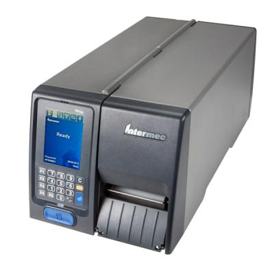 Honeywell PM23c (203dpi), Long Door, Thermotransfer, USB, RS232, Ethernet, Touch-Display, grau