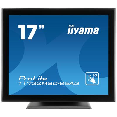 iiyama ProLite T1732MSC-B5AG, 43,2cm (17''), Projected Capacitive, Multi Touch, Antiglare, schwarz