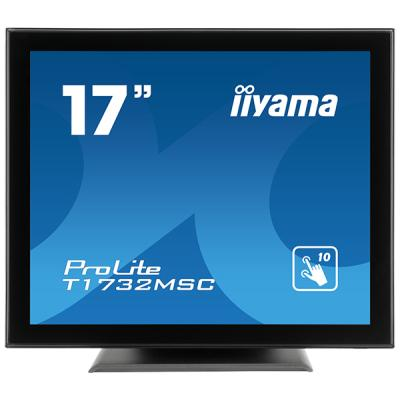 iiyama ProLite T1732MSC-B5X, 43,2cm (17''), Projected Capacitive, Multi Touch, schwarz