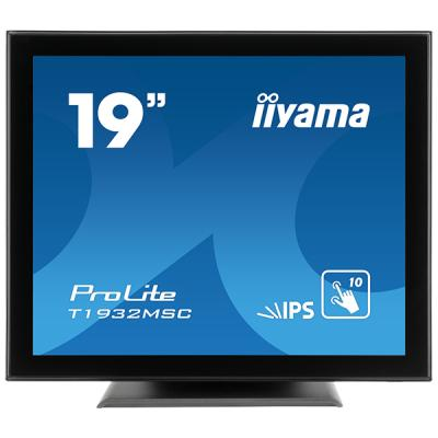 iiyama ProLite T1932MSC-B5AG, 48,3cm (19''), Projected Capacitive, Multi Touch, Antiglare, schwarz