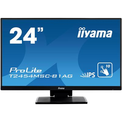 "iiyama ProLite T2454MSC-B1AG, 23,6"", Projected Capacitive, Multi Touch, Antiglare, Full HD, schwarz"