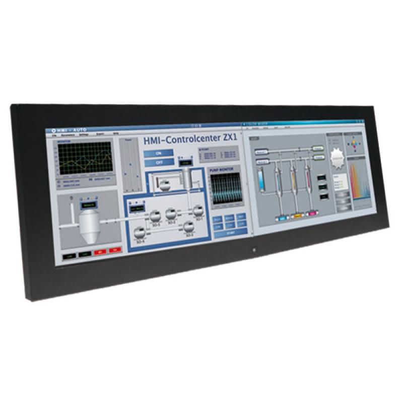 "Panelmaster 2817, 28.6"" Panel PC Bar-Type, N4200, 4GB, 64GB SSD"