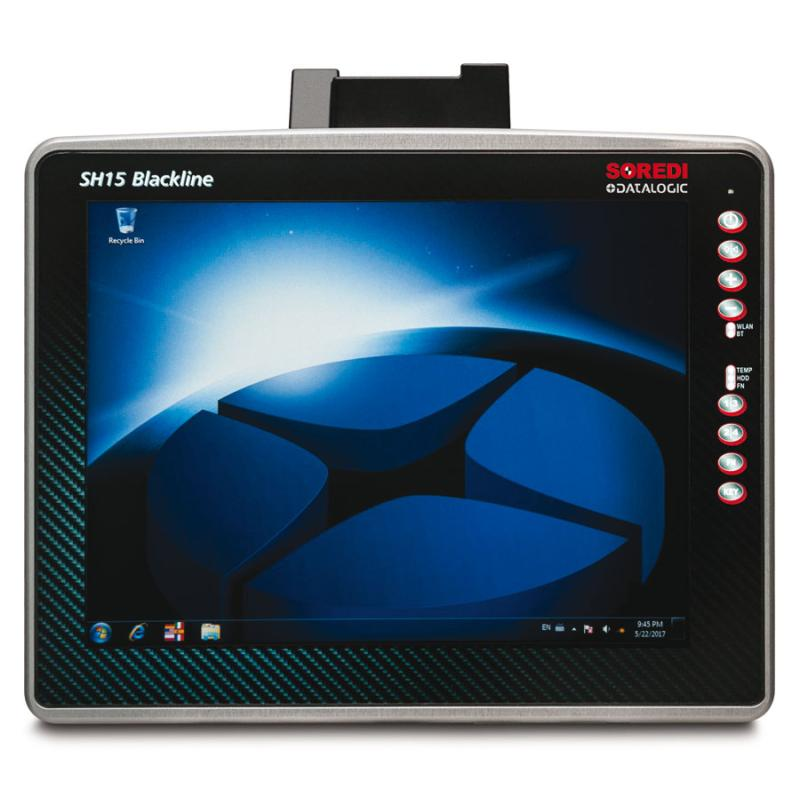 "DTL SH15 Blackline 15"", Quad-Core, BT, USB, RS232, LAN, WLAN, 24-48 VDC, Win 7 Embedded Std."