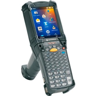 Zebra MC9200, 1D, SR, BT, WLAN, Gun, 53 Tasten, WEHH 6.5, IP64