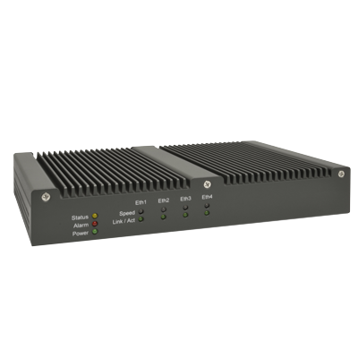 Embedded PC mit mind. 4 LAN Ports