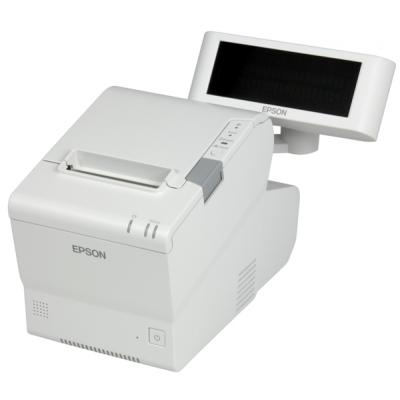 Epson TM-T88V-DT, RS232, USB, Ethernet, PosReady 2009, weiß