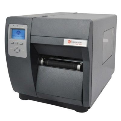Honeywell I-4310e (300dpi), Thermotransfer, USB, RS232, LPT, Rewinder, Eth., Display, schwarz, grau