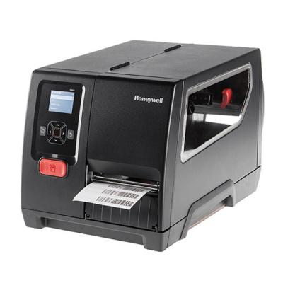 Honeywell PM42 (300dpi), Thermotransfer, USB, RS232, Ethernet, Display, Rewinder, schwarz
