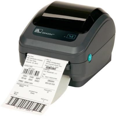 Zebra GX420T, 203dpi Thermotransfer Drucker, USB&Seriell, Ethernet
