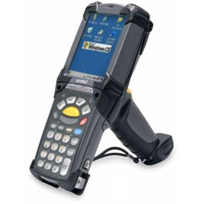 Zebra MC9200, 2D, LR, BT, WLAN, Gun, 28 Tasten, CE 7.0, IP64