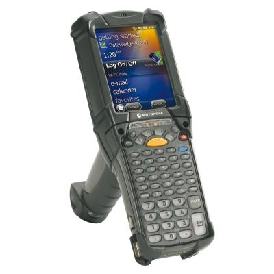 Zebra MC9200, 2D, MR, BT, WLAN, Gun, 53 Tasten, Android 4.4, IP64