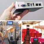 Embedded Box PC für extreme Temperaturen mit Vibrations- und Schockschutz