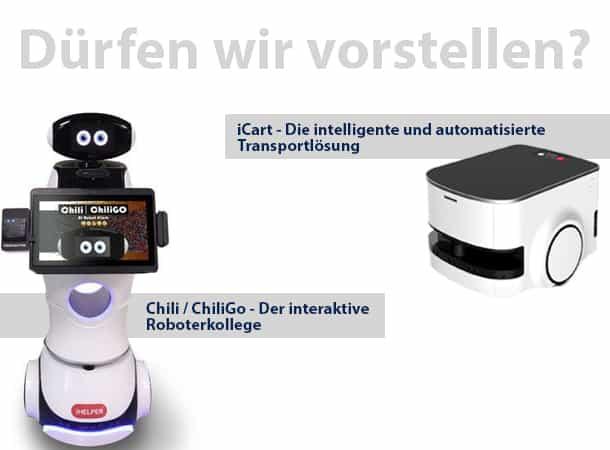 Automation mit den innovativen Robotermodellen von iHelper