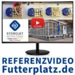 Referenzvideo Futterplatz.de: Erleben Sie das automatische Lager- und Kommissioniersystem STOROJET hautnah