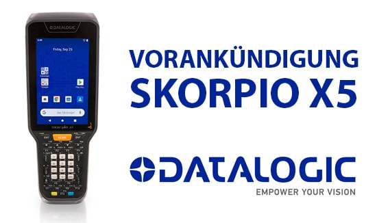 Vorankündigung Datalogic SKORPIO™ X5