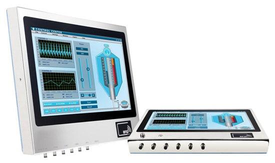 Panel PC der Extraklasse – Hygrolion 2196 in Edelstahl mit RFID- Leser