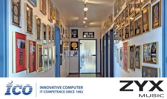 Referenzbericht : ZYX Music und ICO – Eine langjährige Partnerschaft wird neu erfunden.